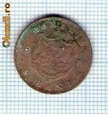 40 Moneda 2 Bani 1880 B -starea care se vede -ceva mai buna decat scanarea foto