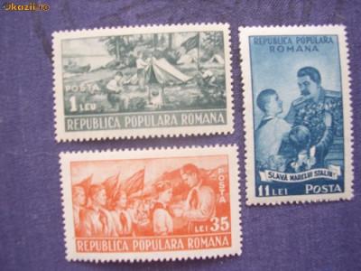 Romania 1951  pionieri  LP 279 foto