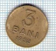 157 Moneda 3 BANI 1952 -starea care se vede -ceva mai buna decat scanarea foto