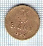 129 Moneda 3 BANI 1952 -starea care se vede -ceva mai buna decat scanarea foto