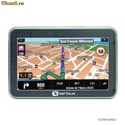 GPS NAVIGATIE AUTO ECRAN MARE 11CM, HARTA TOATA EUROPA 2017 ` TRANSPORT GRATUIT foto