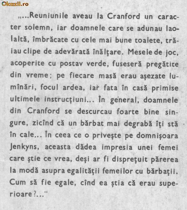 elisabeth gaskell - cranford