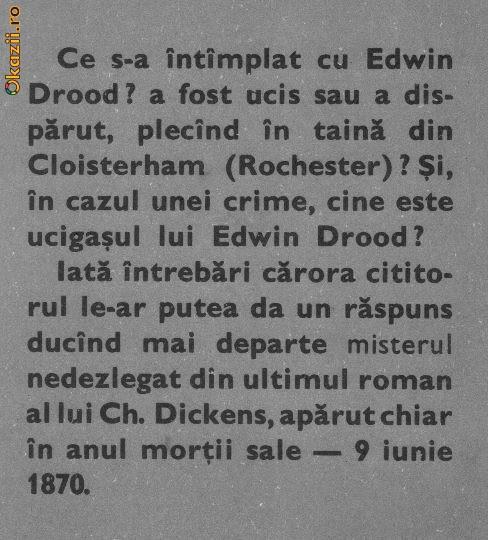 charles dickens- misterul lui edwin drood