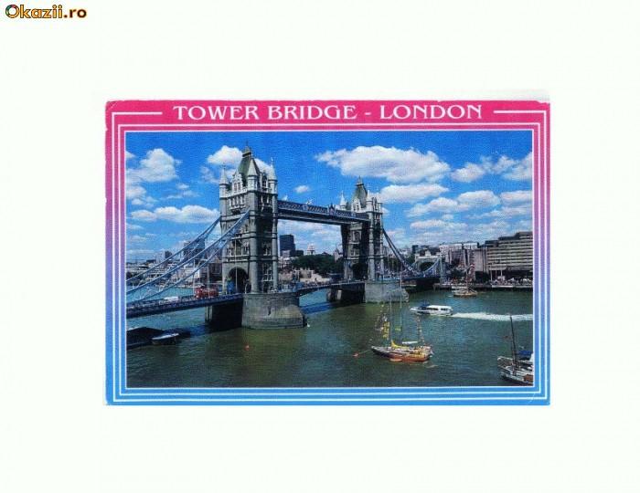 CP179-34 Tower Bridge, London (Londra)-circulata 1999
