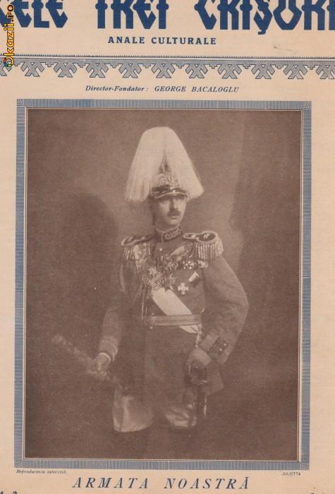 Revista Cele Trei Crisuri : Armata Romana (1931) foto mare