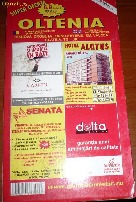 HARTA TURISTICA - OLTENIA