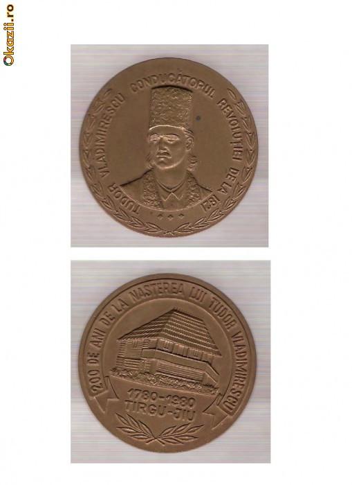 AC 89 Medalia Tudor Vladimirescu, conducatorul revolutiei1821