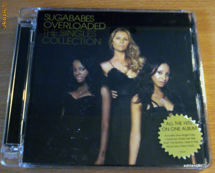 Sugababes - Overloaded.The Singles Collection foto mare