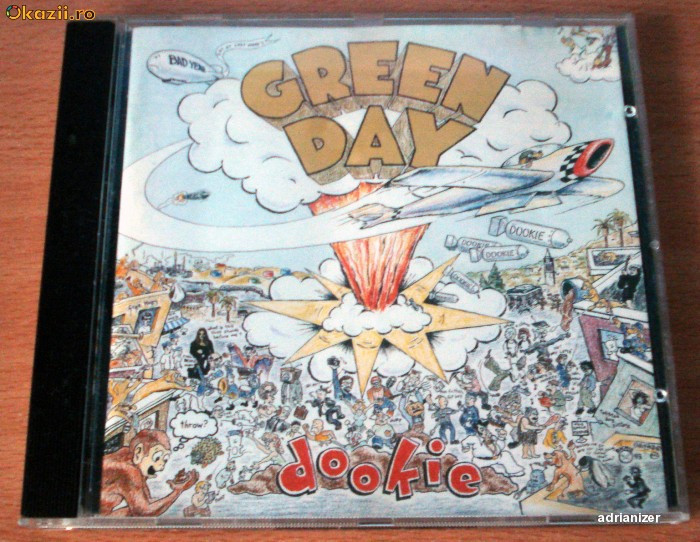 Green Day - Dookie foto mare