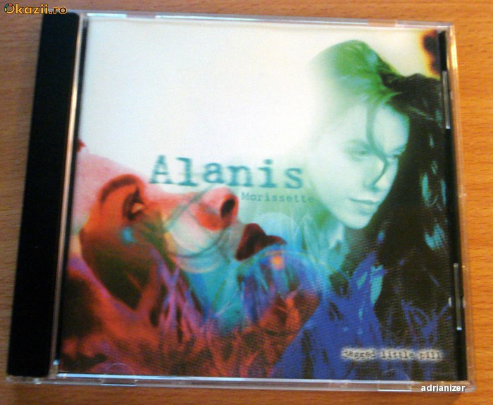 Alanis Morissette - Jagged Little Pill foto mare