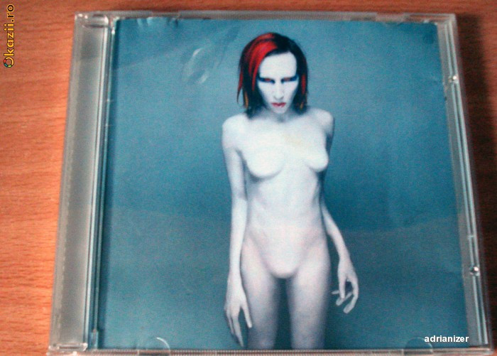 Marilyn Manson - Mechanical Animals foto mare