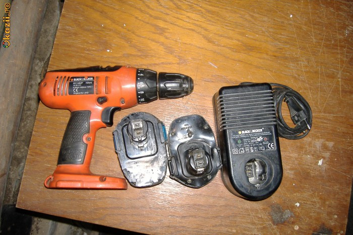 black & decker, autofiletanta foto mare