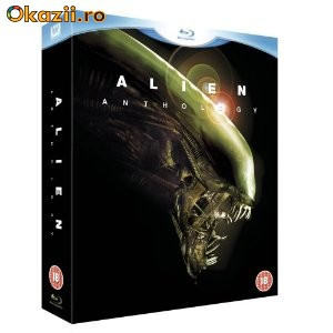Alien Anthology(Full) 6 blue-ray, Box Set foto mare