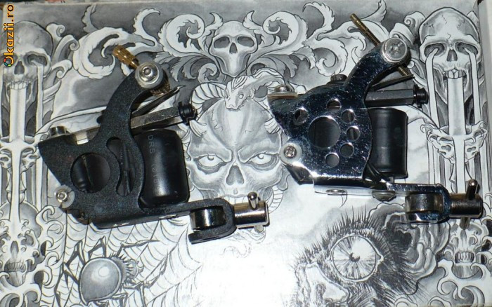 2 aparate tattoo / tatuaje tattoo gun  !!!! foto mare