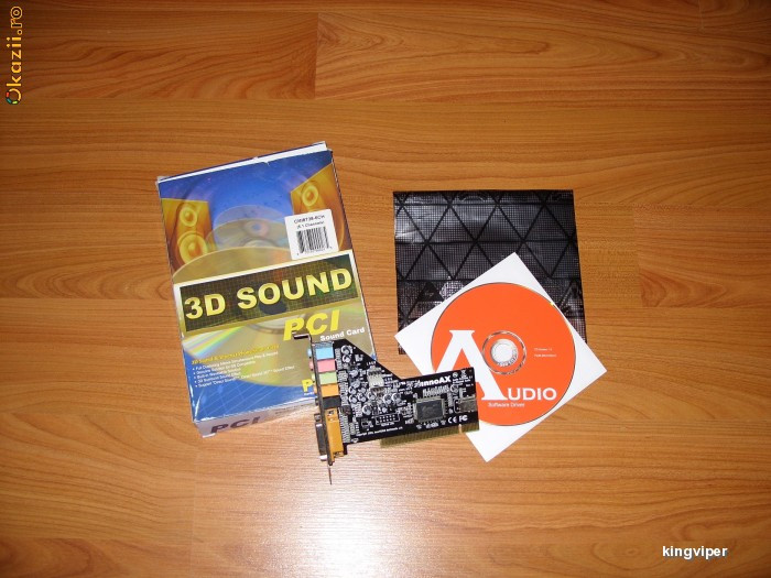 Driver for Inno AX Sound Card Audio Extreme