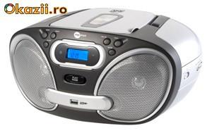 CASETOFON PORTABIL MP3/USB  MPMAN CSU52 foto mare