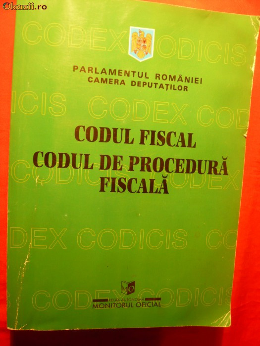 CODUL FISCAL - CODUL DE PROCEDURA FISCALA
