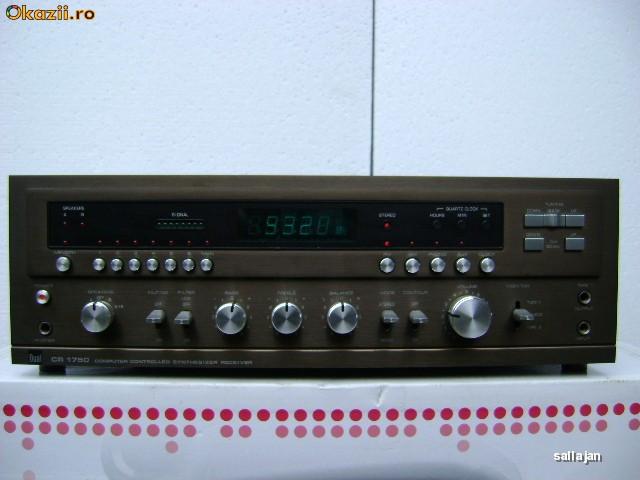 amplituner Dual CR-1750 foto mare