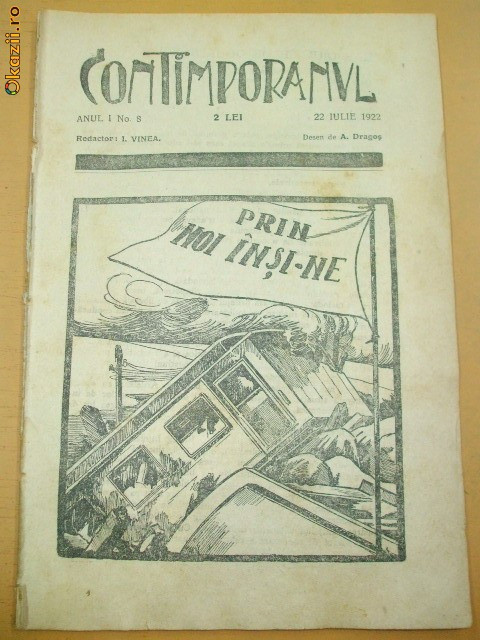 CONTIMPORANUL AN I NR. 8 22 07 1922