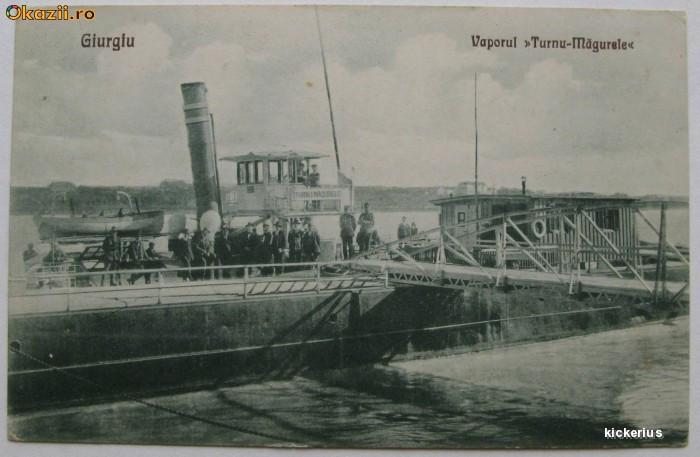 Giurgiu - Vaporul Turnu Magurele 1928