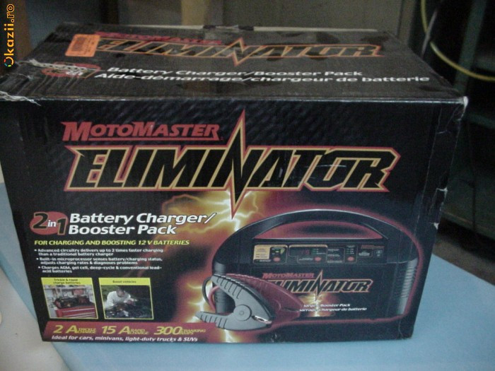 CHARGER (REDRESOR INCARCATOR) SI DESULFATAT ACUMULATORI AUTO,  XPOWER BOOSTER CHARGER 15A foto mare