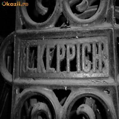 Vand masina de cusut L.KEPPICH fab. 1850 (aprox) foto mare
