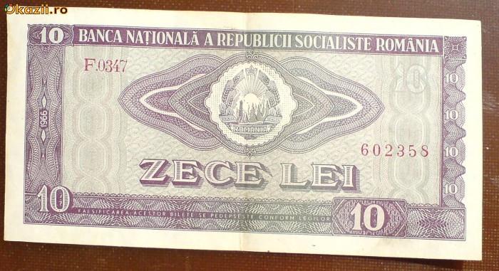 (10) ZECE LEI,  1966! foto mare