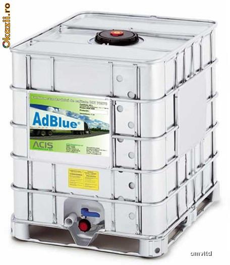 Bidon (recipient) 1000 L plastic pt apa sau diverse foto mare