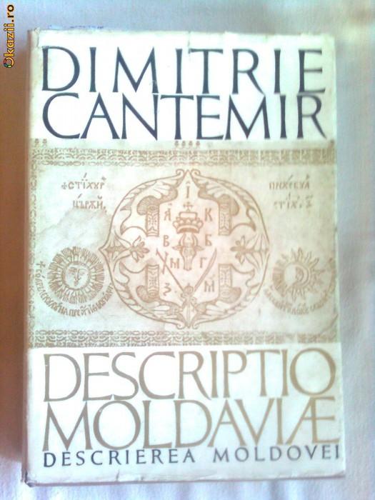 DESCRIPTIO MOLDAVIAE - DIMITRIE CANTEMIR foto mare