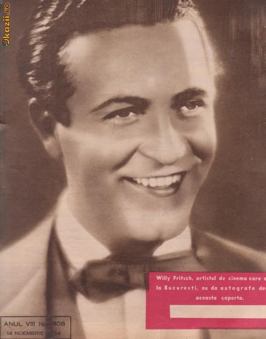 Revista Realitatea Ilustrata - nr.408 din 14 noiembrie 1934