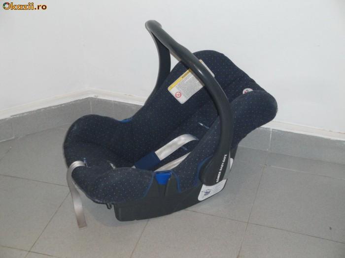 Scaun /  Scoica de masina pentru bebe Romer Baby Safe foto mare
