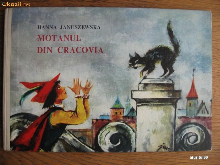 MOTANUL DIN CRACOVIA/COP.CARTONATE/FORMAT MARE ALUNGIT/SUPERB ILUSTRATA/1976 foto mare