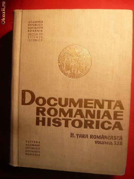 Documenta Romaniae Historica - Tara Romaneasca 1628-1629