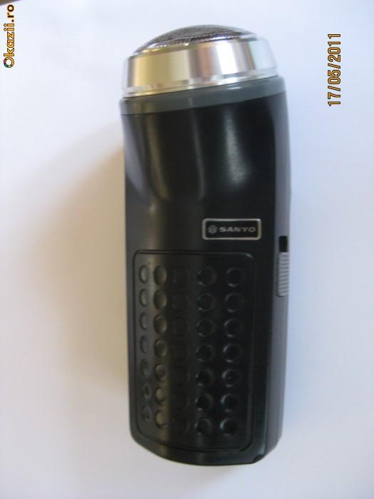 MASINA ELECTRICA DE COLECTIE PENTRU BARBIERIT MARCA SANYO DIN ANII 70