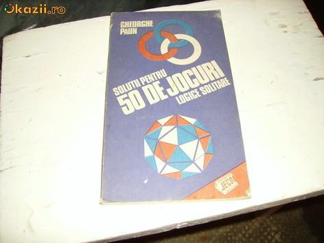 SOLUTII 50 JOCURI
