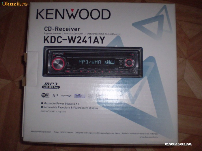 MP3 Player auto Kenwood KDC-W241AY- 220 lei