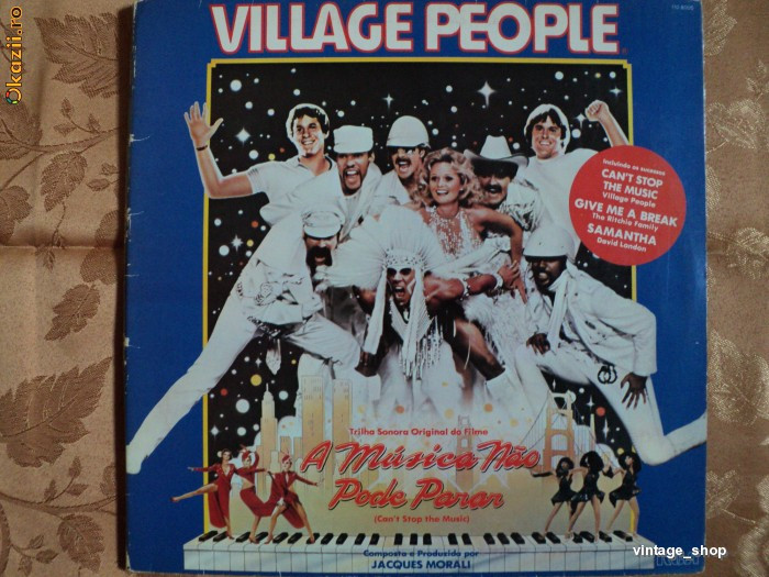 OKAZIE !!! DISCURI / LP / PLACI DIN VINIL PT. PICK-UP - VILLAGE PEOPLE -
