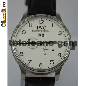 Ceas Replica IWC Portuguese Tourbillon White Watch foto mare