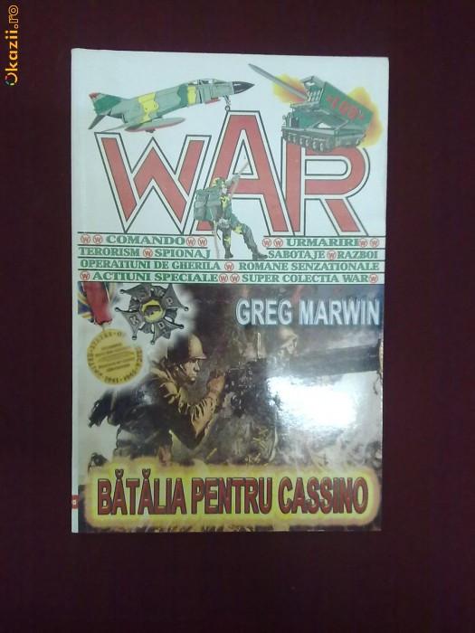 S11L  Greg Marwin - Batalia pentru Cassino foto mare