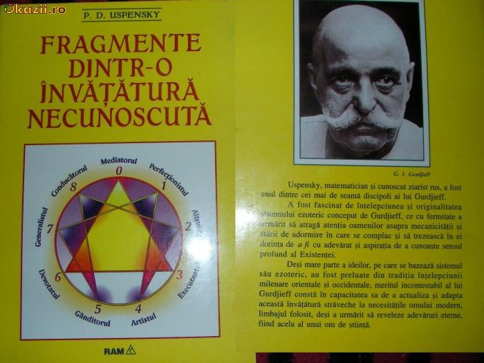 Fragmente dintr-o invatatura necunoscuta - P. D. Uspensky