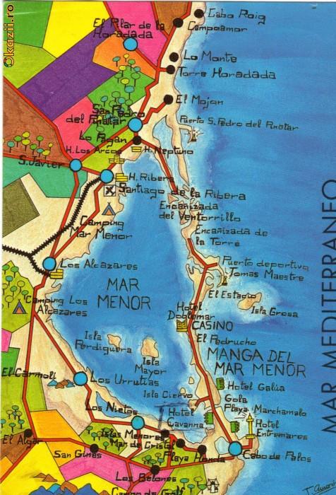 Harta Circumpscripțiilor Consulatelor Romanești De Pe Teritoriul