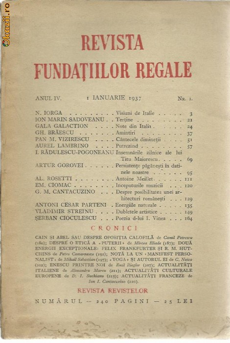 Revista fundatiilor regale