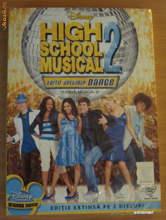High School Musical 2  / Liceul Muzical 2 (2 DVD) foto mare