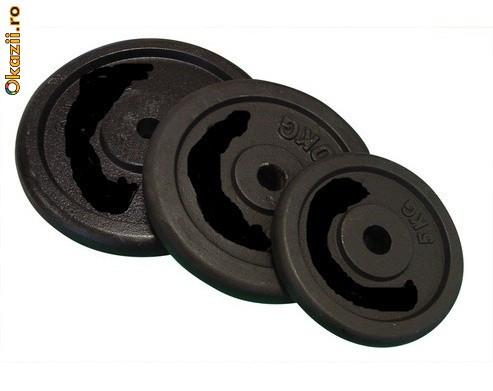 Discuri 15kg pentru gantere sau haltere. Livrare imediata, foto mare