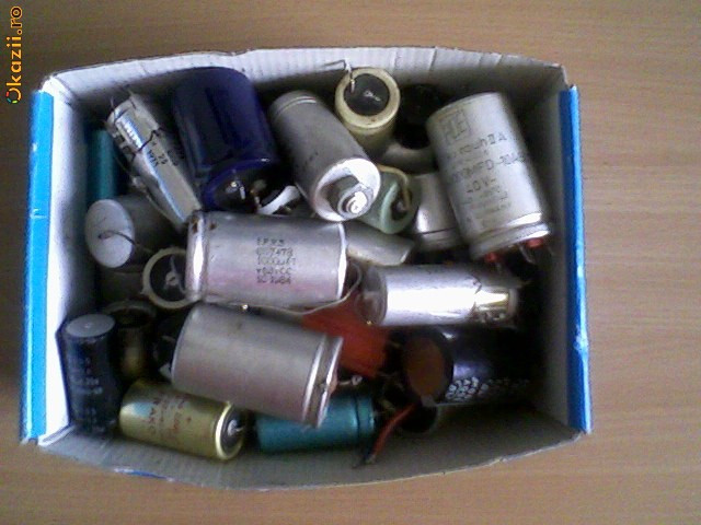 Condesatori Electrolitici la cutie(64 bucati) foto mare