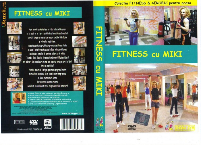 DVD FITNESS ,TAE-BO ,STEP AEROBIC foto mare
