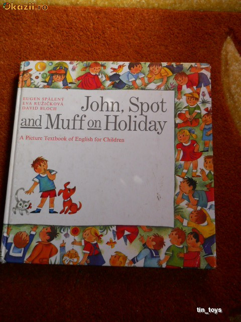JOHN, SPOT, AND MUFF ON HOLIDAY [1986] [TIN] foto mare