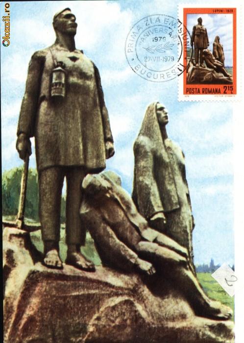 Maxima Monumentul Minerilor de Ion Irimescu din Lupeni