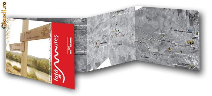 Traseul pentru biciclete  Reghin - Tirgu Mures foto mare