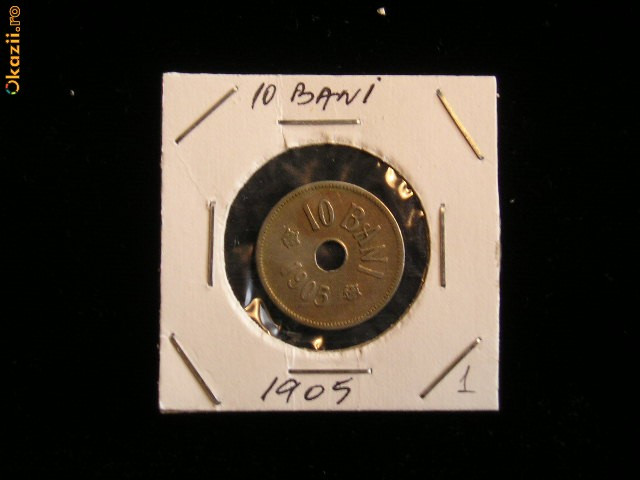 CMR1 - 10 BANI 1905